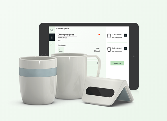 Aquarate fluid balance digital health startup app