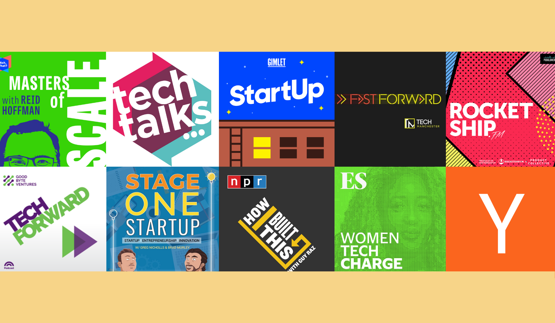 Top 10 Best Podcasts for Startup Founders